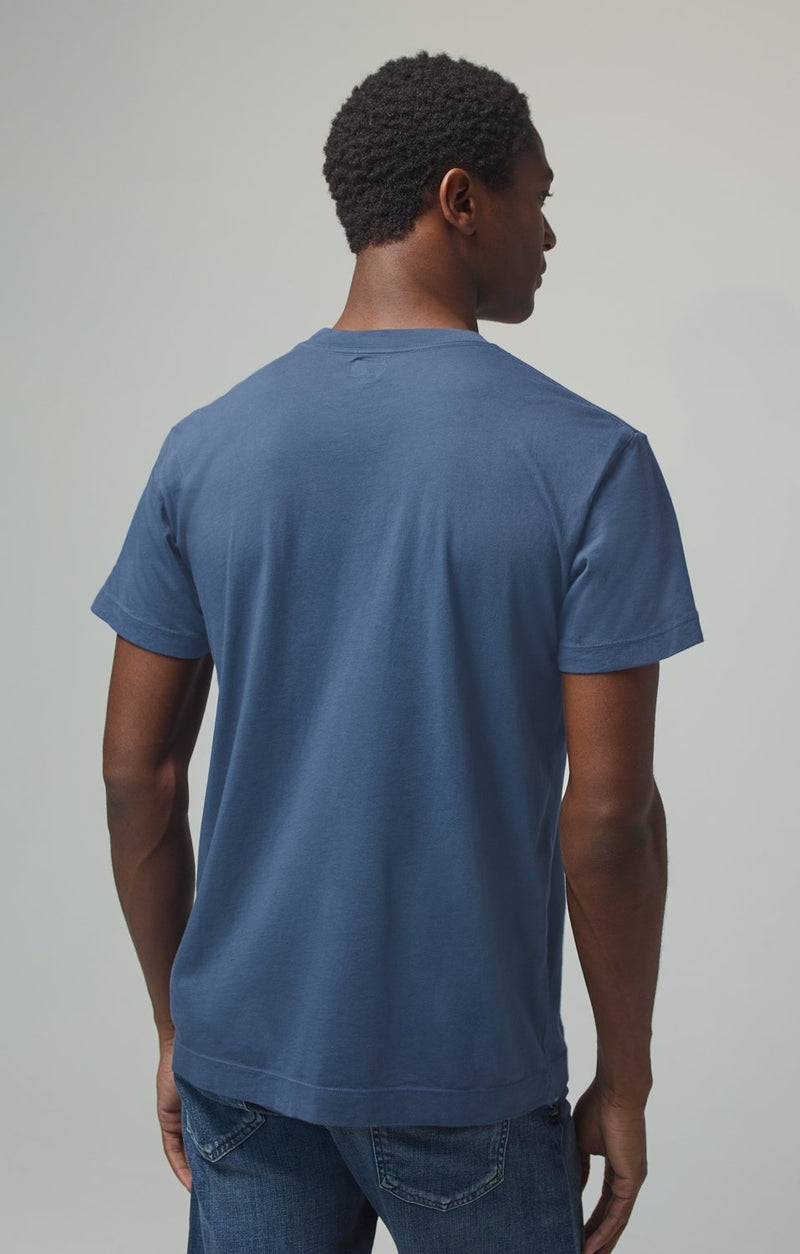 everyday short sleeve tee shirt slate back