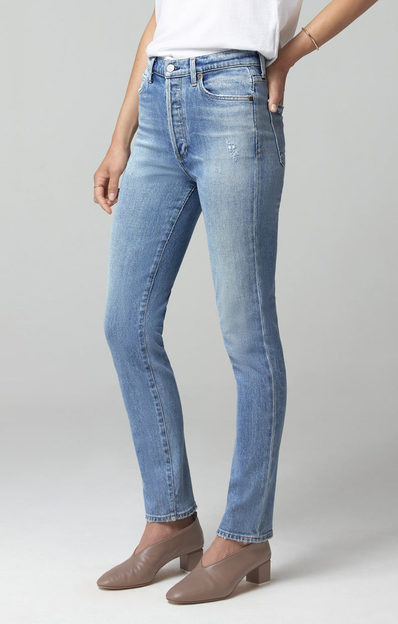 Olivia Long High Rise Slim Fit in Daybreak