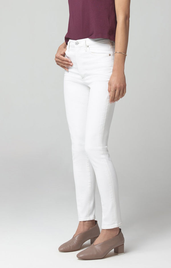 Olivia High Rise Slim Fit in Zen