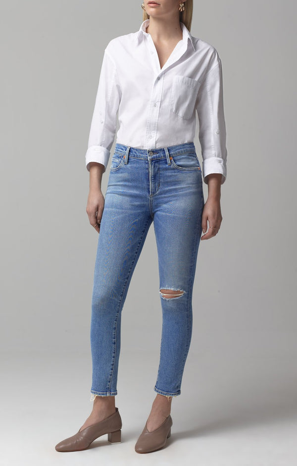 rocket crop mid rise skinny fit keeper front