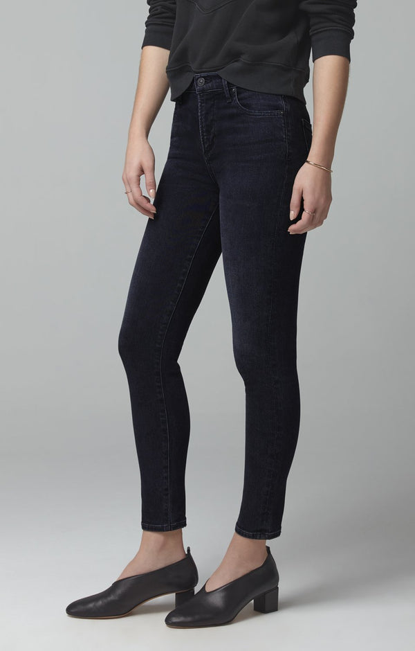 rocket crop mid rise skinny fit thrill back