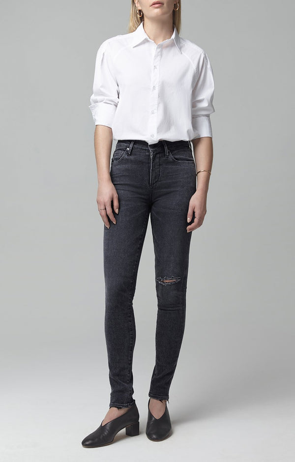 Rocket Mid Rise Skinny Fit in Lithe