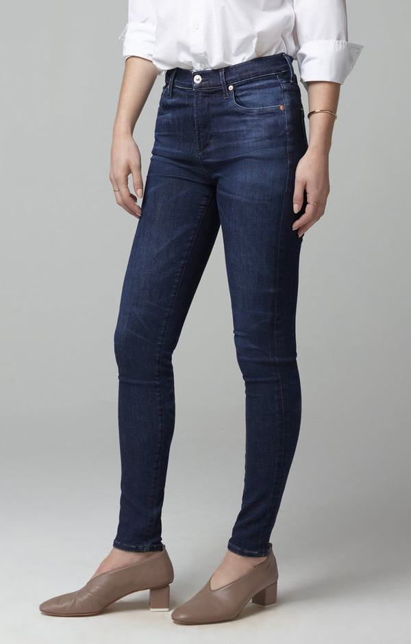Rocket Mid Rise Skinny Fit in Nebula