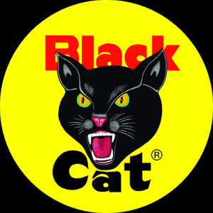Black Cat Fireworks Firecrackers  logo
