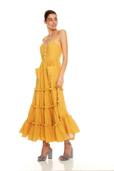 Talulah Desert Oasis Midi Dress Free Shipping AfterPay ZipPay