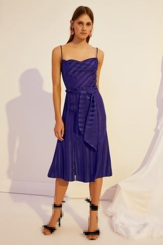 Abound Midi Dress - Cobalt