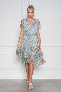 Buy Kamare Collective Divinia Dress in Bluebird now at Smoke and Mirrors Boutique. Buy Kamare Divinia Dress with ZipPay. Buy Kamare Divinia Dress now with AfterPay. Buy Kamare with Free Shipping Australia wide on all orders over $100.