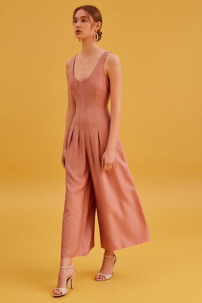Fever Jumpsuit - Dusty Pink