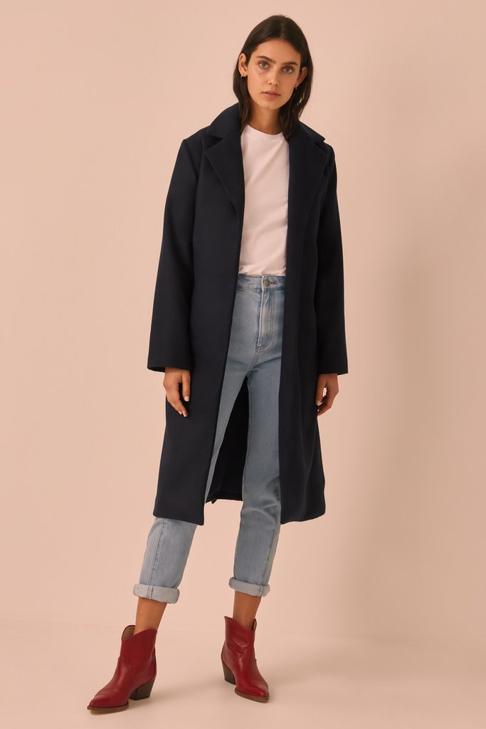 The Fifth Label Portraits Coat Navy Free Shipping