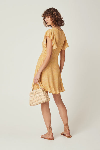 Buy Auguste the Label Tear Drop Sunday Mini Dress in Golden Sand online now at Smoke and Mirrors Boutique. Shop Auguste the Label AfterPay. Buy Auguste the Label ZipPay. Auguste the Label Stockists. Auguste the Label Brisbane.