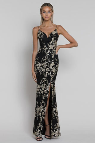 Buy Bariano Julia Ishtail Glitter Gown in Black/Gold now at Smoke and Mirrors Boutique. Buy Bariano Julia Glitter Gown with ZipPay now. Buy Bariano Julia Glitter Gown with AfterPay now. Buy Bariano with Free Shipping Australia wide on all orders over $100.