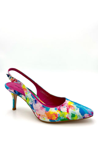Loriesta Slingback - Sunset Fabric