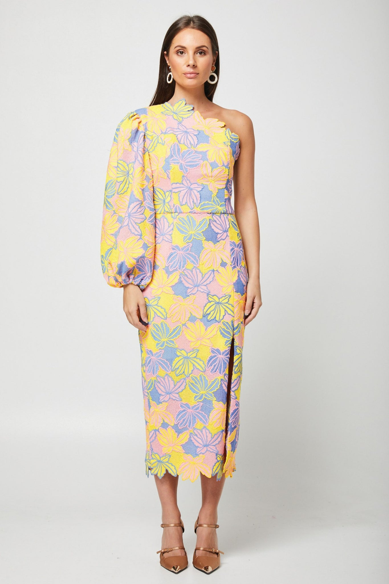 Educe Dress - Multi Pastel
