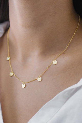 Charlotte Necklace - Gold