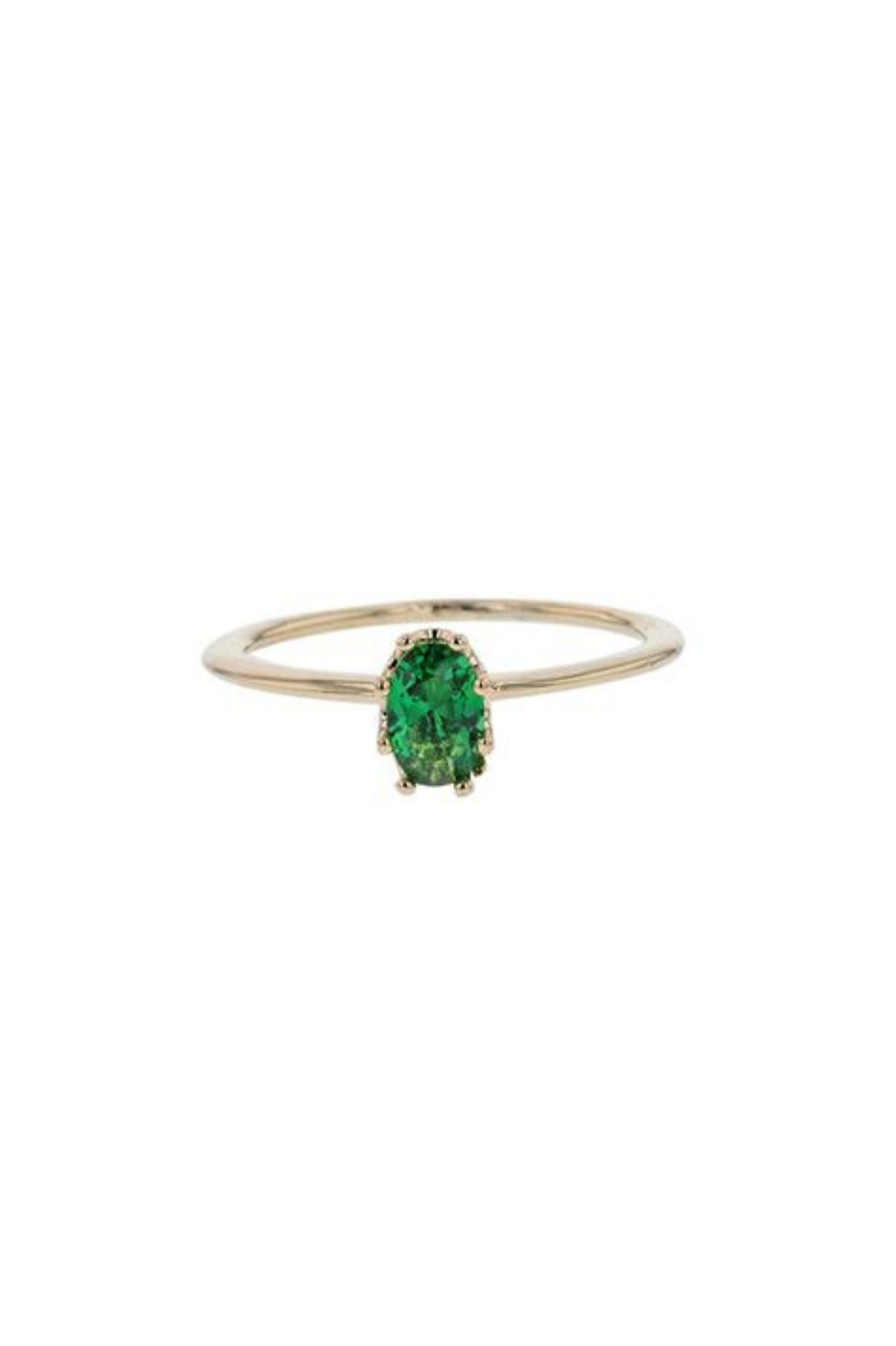 Dora Ring - Green Swarovski