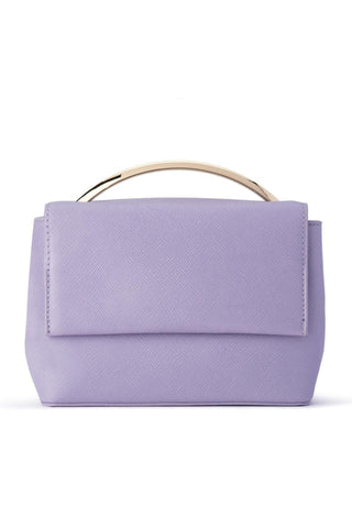 Buy Olga Berg Clarissa Shoulder Bag in Lilac Online. Lavender or Purple Handbags online Australia. Race Wear and cocktail clutch.