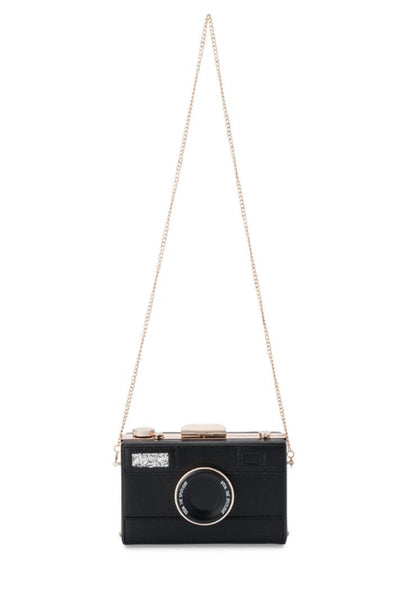 Buy Olga Berg Madelyn Camera Clutch Bag online now. Shop Statement and Stand Out Clutches for Race Wear and Cocktail and Formal. Fun Clutches.