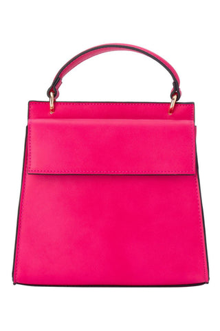 Buy Olga Berg Veronica Double Sided Top Handle Bag in Fuchsia Hot Pink. Toowoomba Stockists. Pink Handbags online.