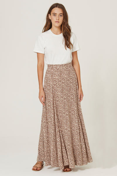 Buy Auguste the Label Nomad Oscar Maxi Skirt Tan now at Smoke and Mirrors Boutique. Buy Auguste the Label with ZipPay. Buy Auguste with AfterPay. Auguste the Label Australian Stockist.
