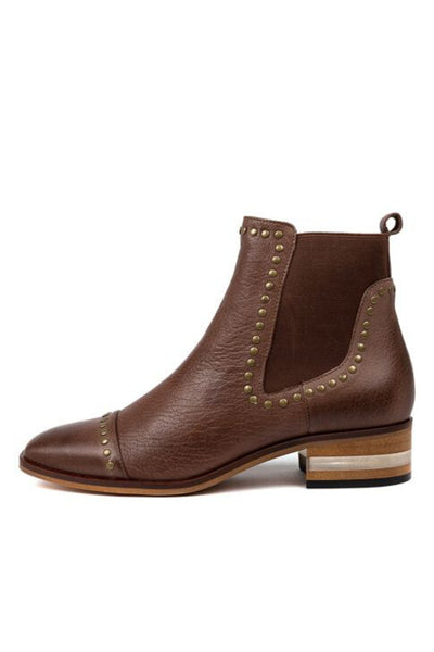 Ferras Chelsea Boot - Brandy Leather