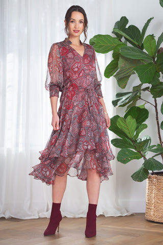 Buy Kamare Collective Marabella Dress online now at Smoke and Mirrors Boutique. Shop Kamare Collective with AfterPay and ZipPay. Mother of the Bride or Groom Dress. Kamare Stockist.