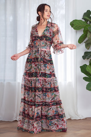 Buy Kamare Collective McGraw Maxi Dress online now at Smoke and Mirrors Boutique. Shop Kamare Collective with AfterPay and ZipPay. Mother of the Bride or Groom Dress. Kamare Stockist.
