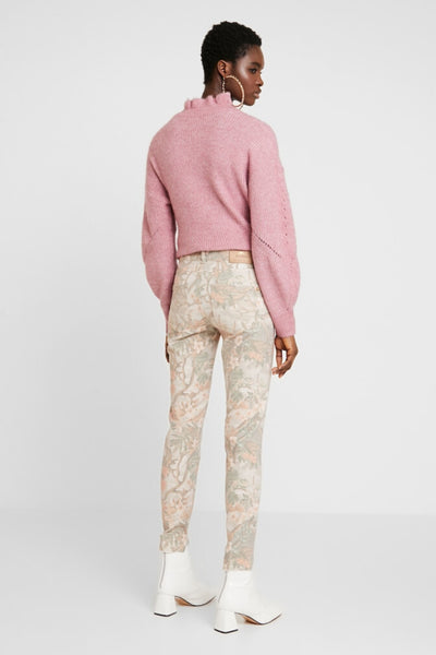 Sumner Rio Ankle Pant - Rose Flower