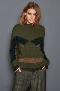 Buy NU Denmark Adria Blouse Knit in Army Mix online now at Smoke and Mirrors Boutique. Shop NU Denmark Australia with AfterPay ZipPay and Free Shipping. Australian Stockist NU Denmark.