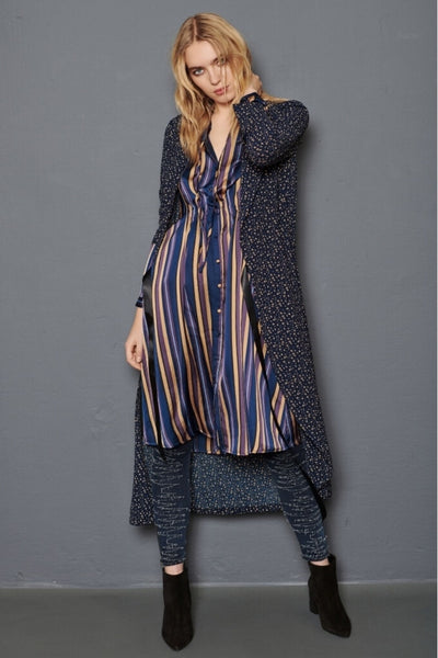 Buy NU Denmark Allie Dress in Midnight Stripe online now at Smoke and Mirrors Boutique. Shop NU Denmark Allie Dress with AfterPay ZipPay and Free Shipping. NU Denmark Australian Stockist.