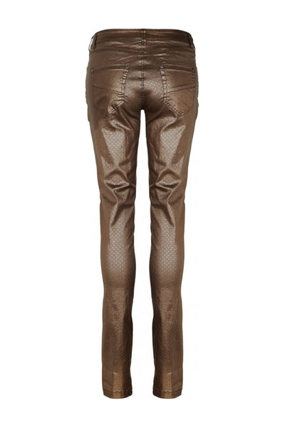 Buy NU Denmark Lava Adela Jeans in Camel Metallic online now at Smoke and Mirrors Boutique. Shop NU Denmark Australian Stockists with ZipPay, AfterPay, and Free Shipping.
