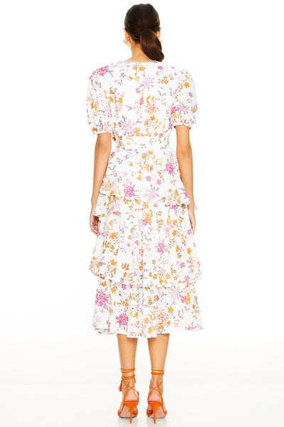 Buy Talulah Jasmine Vines Midi Dress Size 16 online now at Smoke and Mirrors Boutique. Shop Talulah Jasmine Vines Midi Dress XXL online with ZipPay and AfterPay. Talulah Size 16 Stockist.