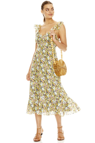 Buy Talulah Sunny Days Midi Dress online now at Smoke and Mirrors Boutique. Shop Talulah Sunny Days Midi with AfterPay and ZipPay. Talulah Size 16 Stockists Toowoomba and Brisbane. Free Shipping.