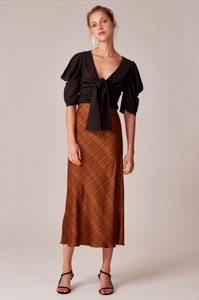 Buy C/meo Collective No Time Skirt in Copper Check now at Smoke and Mirrors Boutique. Shop C/meo Collective now Free Shipping Australia wide. Buy C/MEO COLLECTIVE ZipPay. Buy C/MEO COLLECTIVE AfterPay.