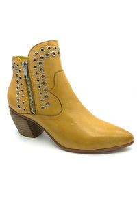 Buy Django and Juliette Jason Leather Boot in Yellow online now at Smoke and Mirrors Boutique
