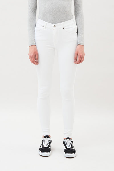 Buy Dr Denim Lexy Jean White ZipPay AfterPay