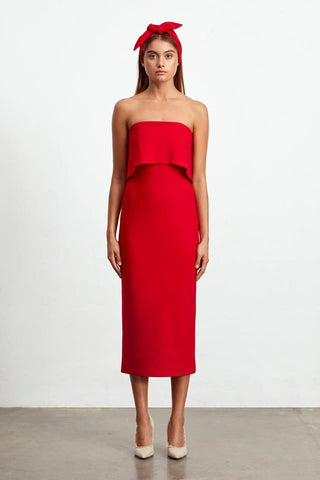 Marino Dress - Red