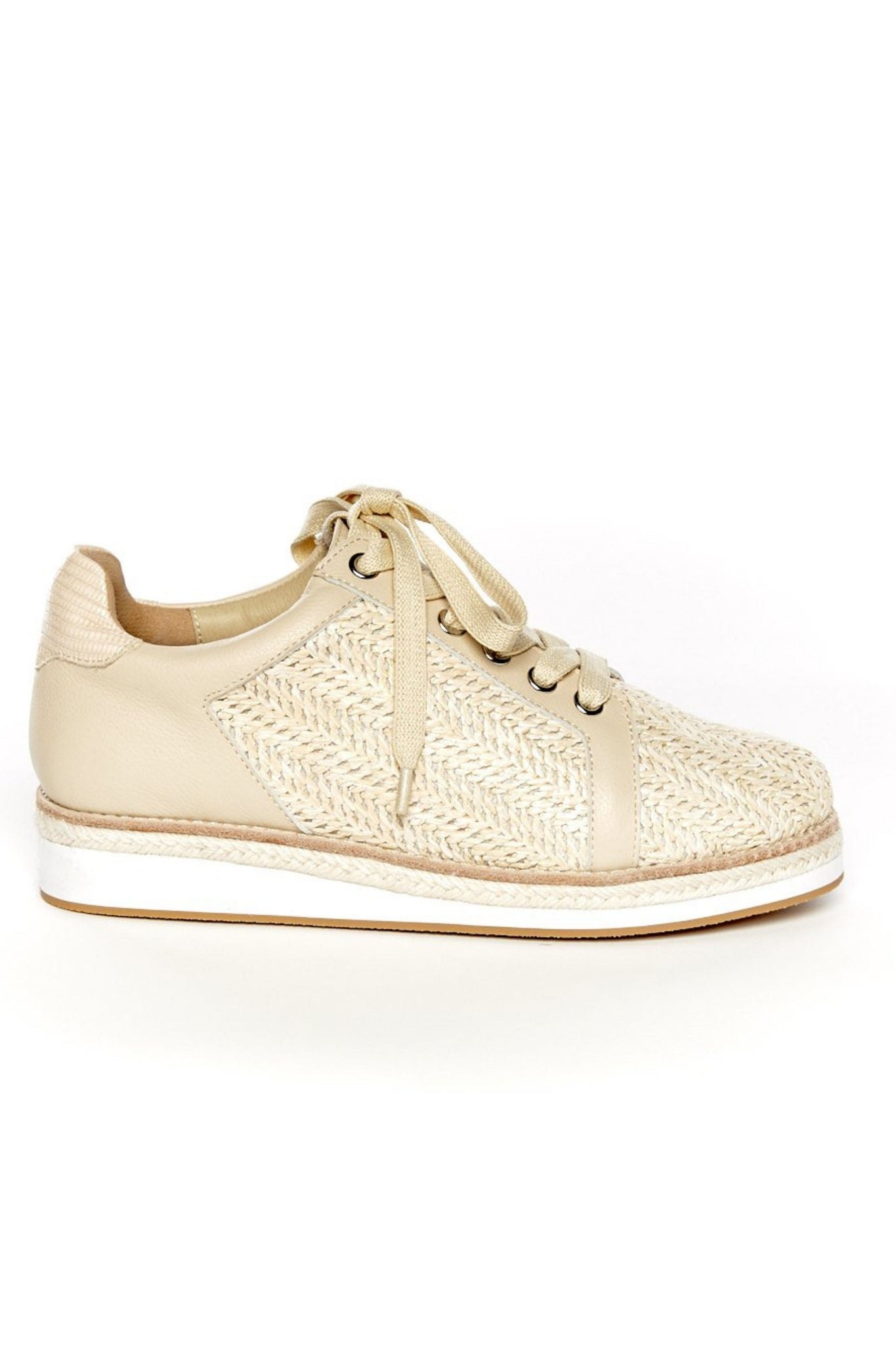 Class Sneaker - Natural Weave