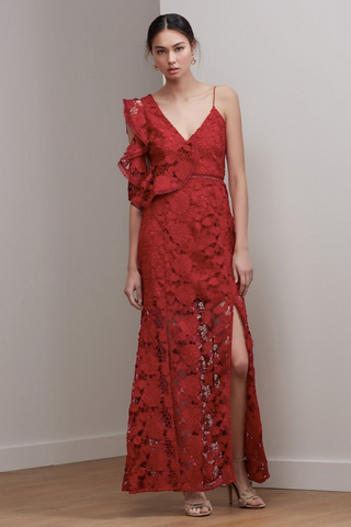 Frameless Gown - Red - SMALL ONLY
