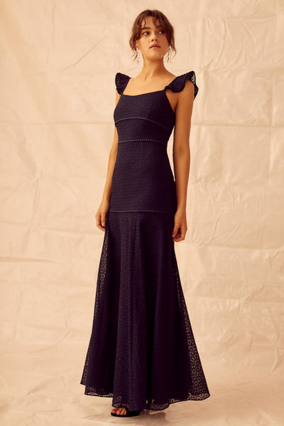 Trouble Gown - Navy