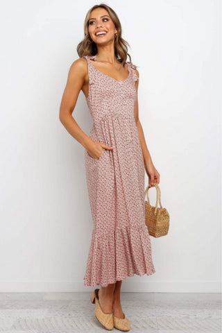 Sweetie Dress - Pink Floral