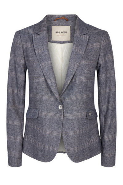 Buy Mos Mosh Blake Alison Blazer in Indigo Check now at Smoke and Mirrors Boutique. Premium Mos Mosh Australian Stockist. Buy Mos Mosh Australia with Free Shipping on all orders over $100. Mos Mosh ZipPay and Mos Mosh AfterPay available.