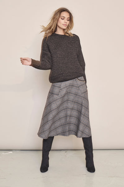 Buy Mosh Mosh Alice Milano Skirt in Black Check online now at Smoke and Mirrors Boutique. Shop Mos Mosh Australian Stockist. Buy Mos Mosh Australia with  ZipPay & AfterPay & Free Shipping.