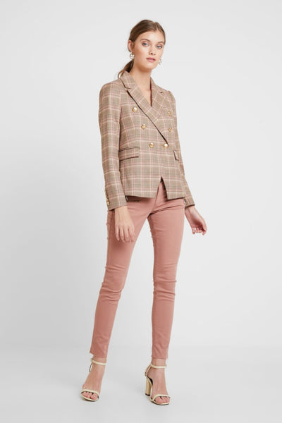 Buy Mosh Mosh Beliz Fara Blazer in Vintage Rose Check online now at Smoke and Mirrors. Shop Mos Mosh Australian Stockist. Buy Mos Mosh Australia with  ZipPay & AfterPay & Free Shipping.
