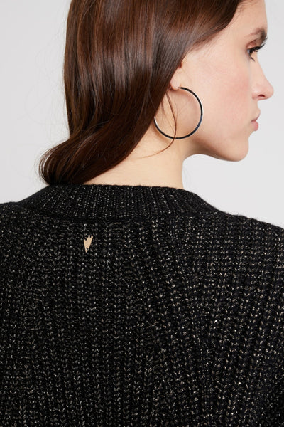 Buy Mosh Mosh Liz Autumn Knit in Black Gold online now at Smoke and Mirrors Boutique. Shop Mos Mosh Australian Stockist. Buy Mos Mosh Australia with  ZipPay & AfterPay & Free Shipping.