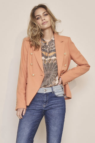 Buy Mosh Mosh Renata Scarf Blouse in Apricot online now at Smoke and Mirrors Boutique. Shop Mos Mosh Australian Stockist with ZipPay AfterPay and Free Shipping. Mos Mosh 2020.