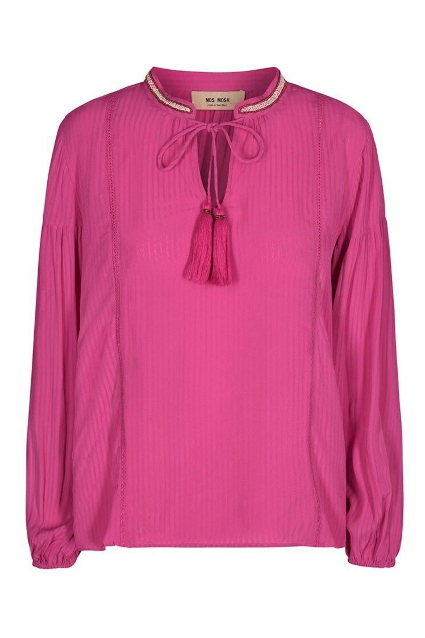 Buy Mos Mosh Raspberry Boho Blouse now at Smoke and Mirrors Boutique. Premium Mos Mosh Australian Stockist. Mos Mosh ZipPay and Mos Mosh AfterPay available. Buy Mos Mosh Australia with Free Shipping on all orders over $100.