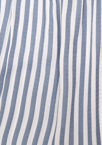 Nautica Tie Shirt - Blue Stripe
