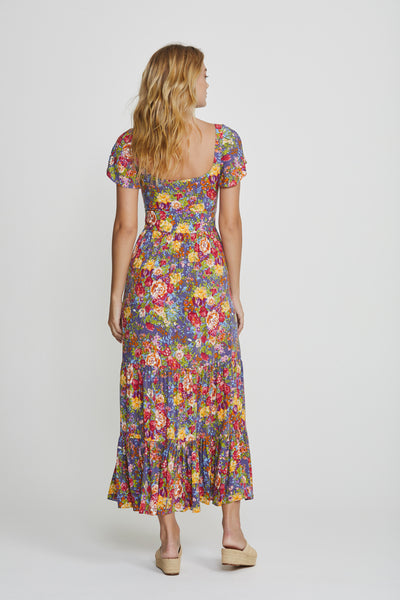 Auguste the Label Magnolia Bella Maxi Dress Purple ZipPay AfterPay