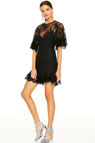 Talulah Blind Love Mini Dress Black Free Shipping