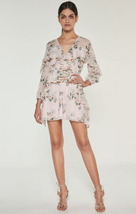 Wild Thyme L/S Mini Dress - L ONLY